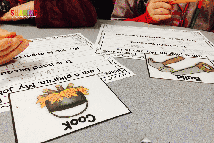 Check out this fun pilgrim job writing activities.