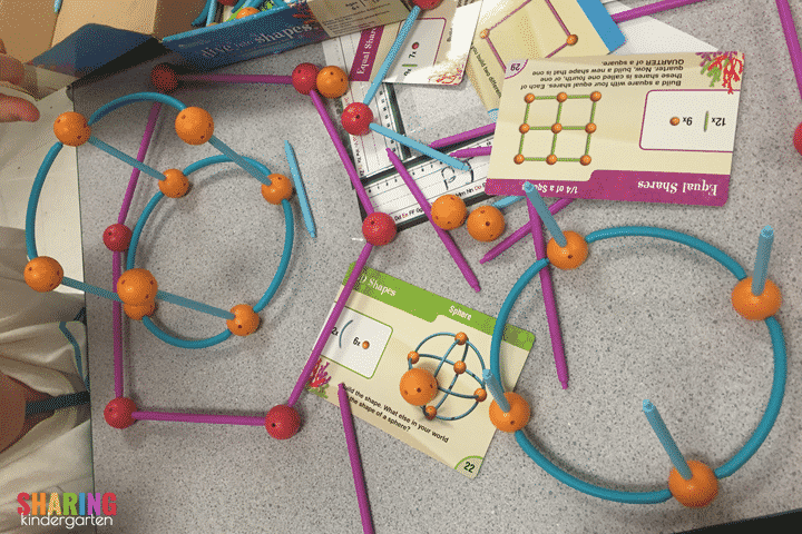 Engagement Moments in Math: Building Flat and Solid Shapes