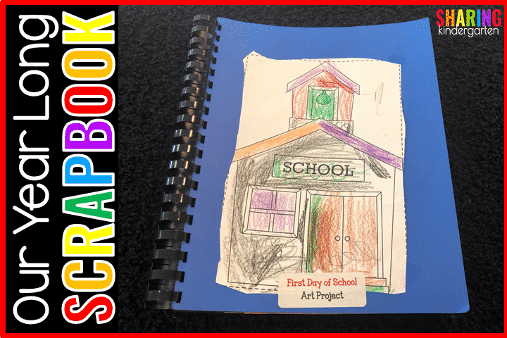 Read to learn how to make a treasured kindergarten scrapbook