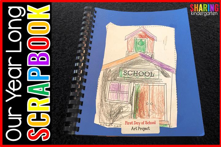 Read to learn how to make a treasured kindergarten scrapbook
