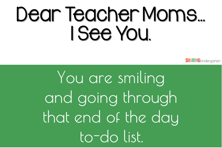 Teacher Moms: You are Amazing!