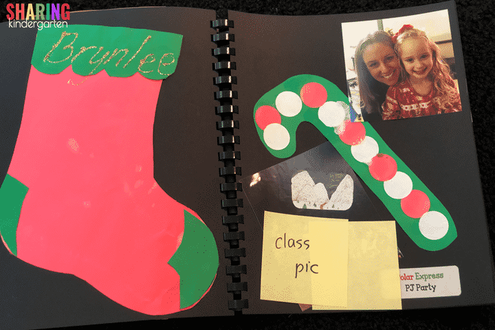 December Scrapbook Page