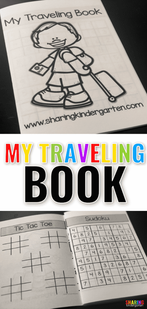 Freebie Printable for Traveling with Kids - Sharing Kindergarten