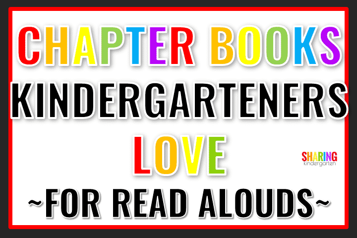 List of chapter books to read to kindergarten students
