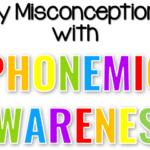 My Misconceptions With Phonemic Awareness
