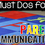 Must Dos For Parent Communication