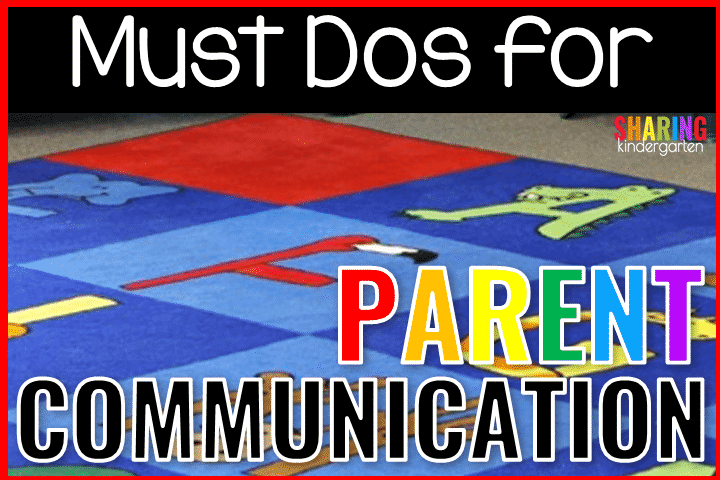 Must Do Tips to Help with Parent Communication
