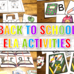 Easy to Prep Back to School ELA Activities