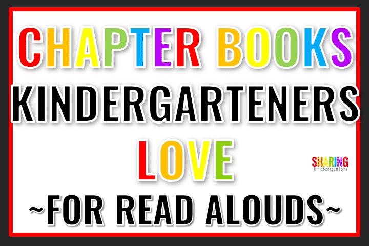 Chapter Books for Kindergarten