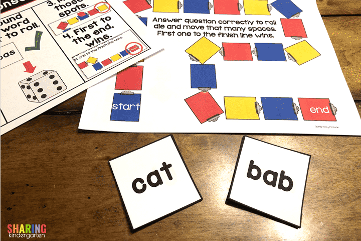 Real and Nonsense Words Game