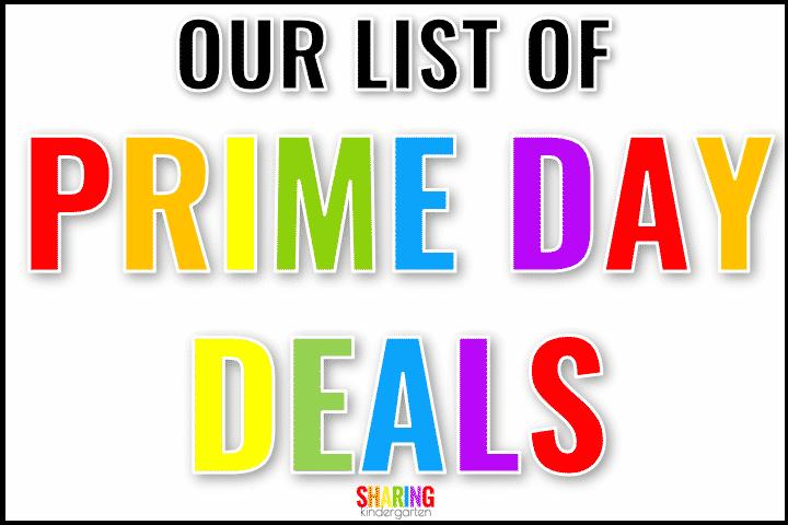 Prime Day Deals for Teachers
