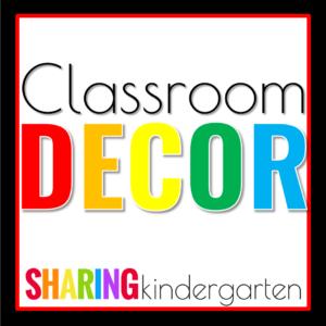 Classroom Decorations