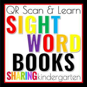 QR Sight Word Book