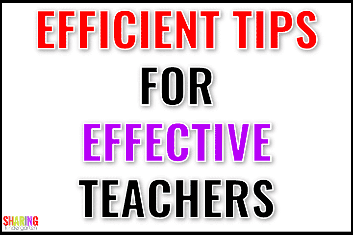 Efficient Tips for Effective Teachers