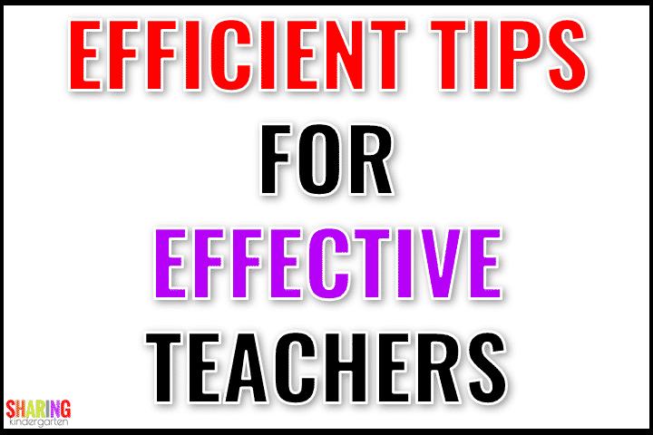 Efficient Tips for Effective Teachers