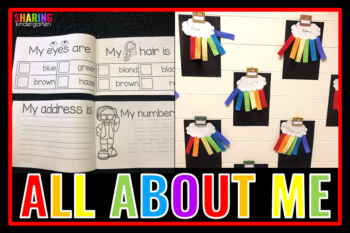Kinder Friendly All About Me Ideas