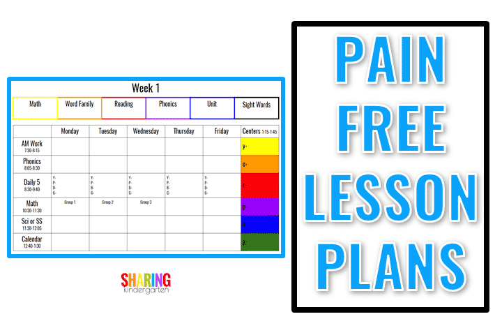 Pain Free Lesson Plan