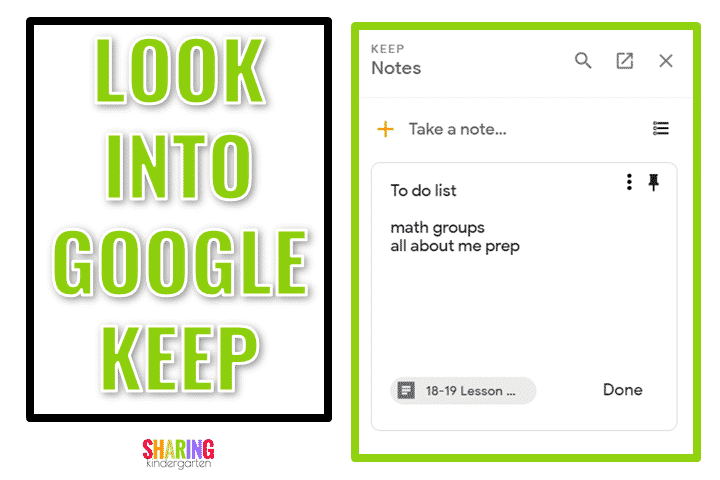 Efficient Tips for Effective Teachers: Another Smart Idea- Google Keep