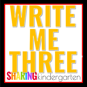 Write Me Three