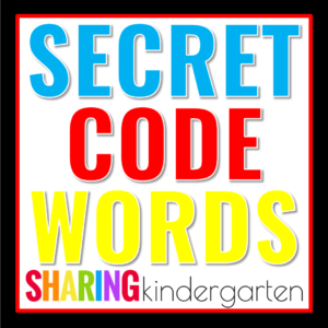 Secret Code Words