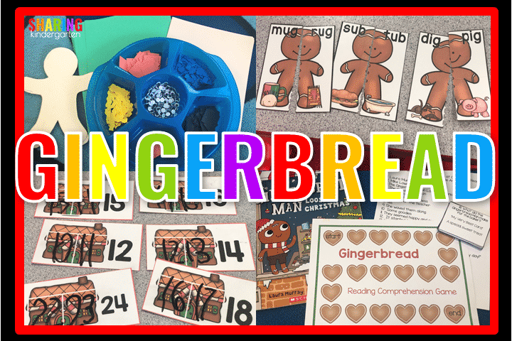 Gingerbread Learning Activities
