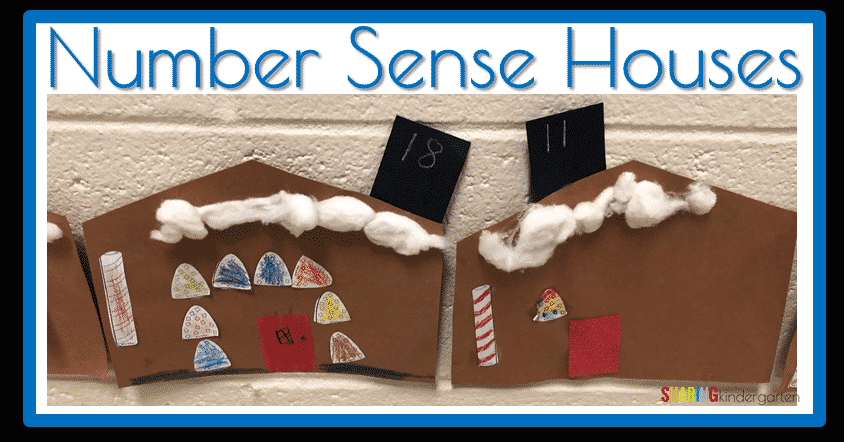 Number Sense Gingerbread Houses