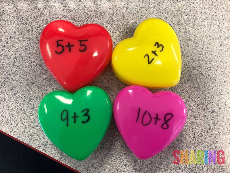 Differentiated math hearts
