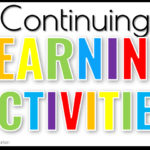 Continuing Learning Activities