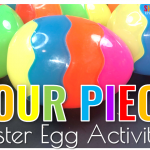 Four Piece Easter Egg Activities
