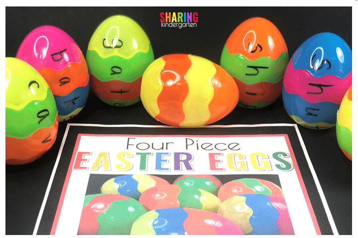 Grab your free printables for these Easter Egg pieces here.