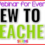 Webinar for Every New to Kindergarten Teacher