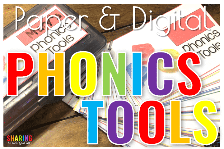 Paper & Digital Phonics Tools