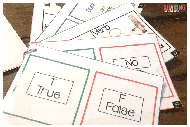Ask and show cards are perfect for hybrid learning!