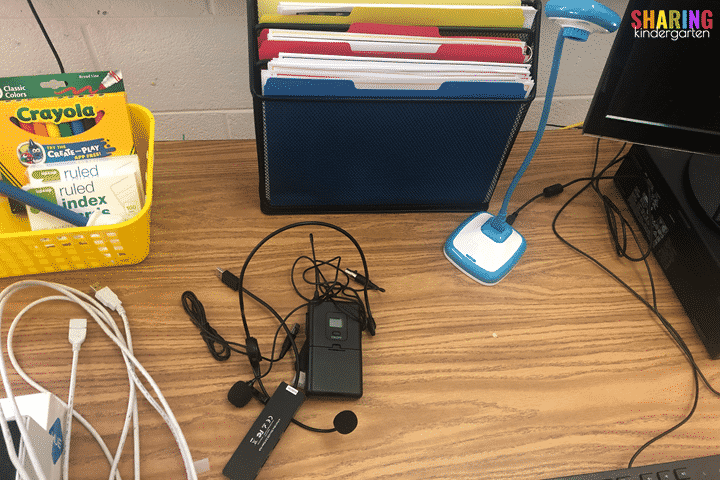 Do you have a wireless mic? They are great for virtual teaching.