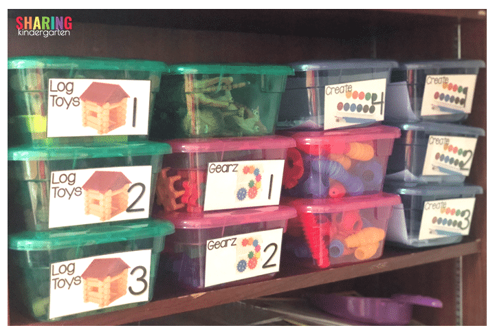 Centers in kindergarten are possible even with Covid Restrictions.