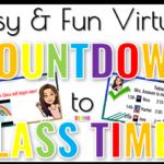 Easy & Fun Virtual Countdown to Class Timer