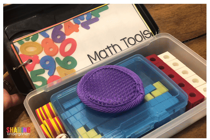 Math kits for hands on learning fun!