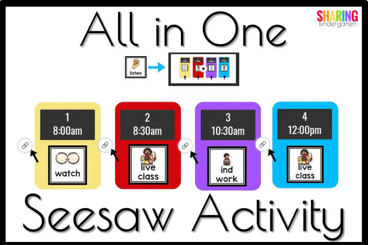 All in One Seesaw Activity idea