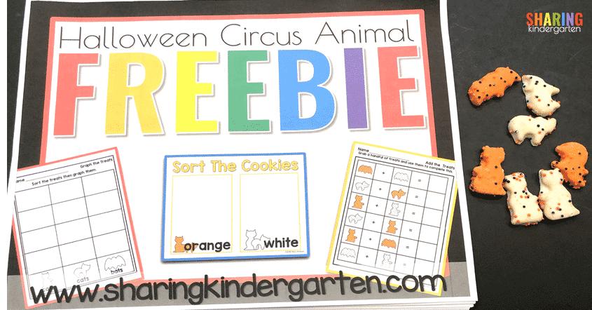 Halloween Circus Animal Cookies