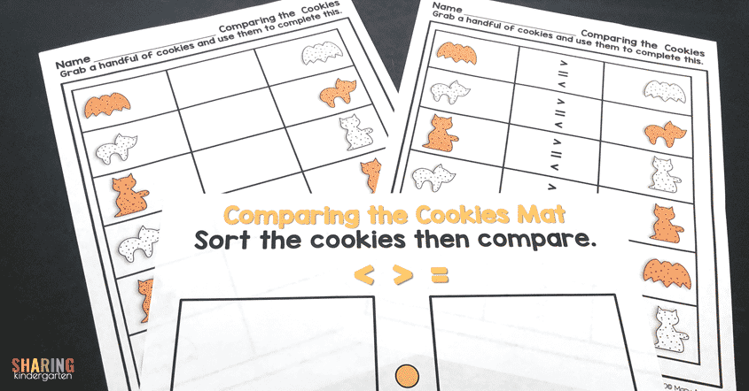 Comparing the Cookies Mats