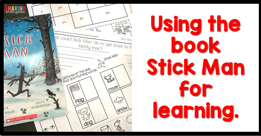 Using the book Stick Man for Learning.