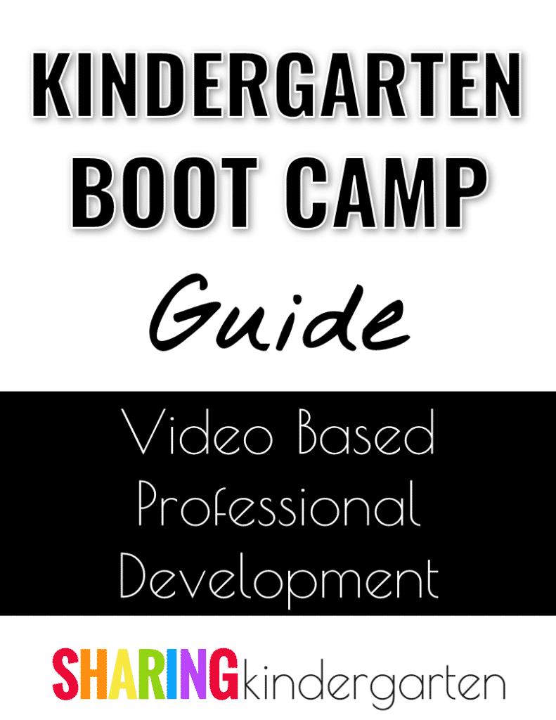 Kindergarten Boot Camp Guide