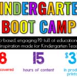 Kindergarten Boot Camp