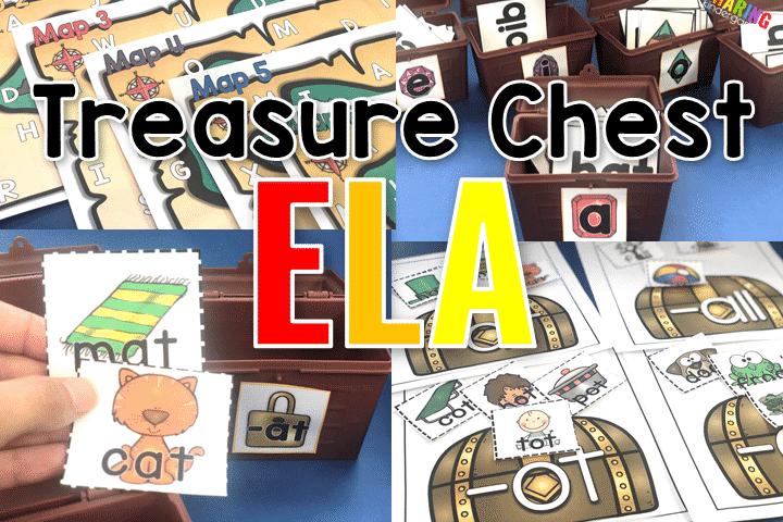 Treasure Chest ELA Activities