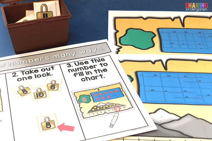 Show numbers in many ways with these FUN number sense mats.
