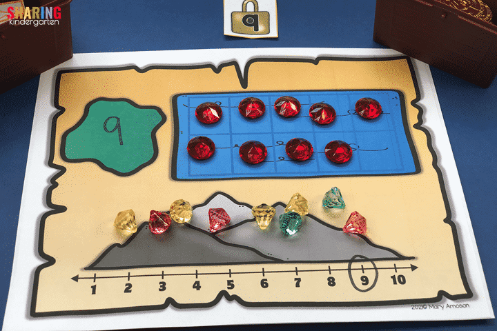 Treasures of number sense with this math activity.