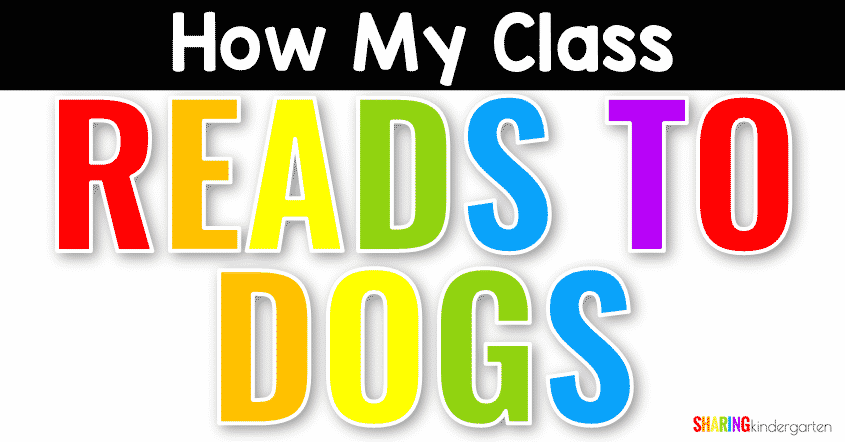 How My Class Reads to Dogs as a Reward and an idea for reading motivation for elementary students.