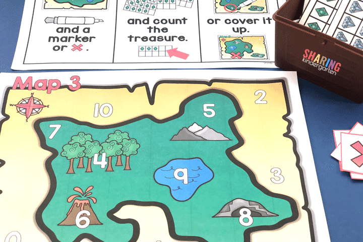 Treasure Map Number Match