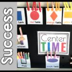 Center Ideas for Kindergarten