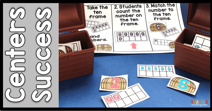 match the ten frame learning activity